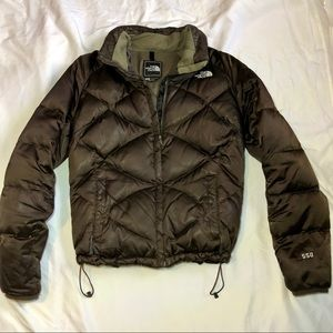 North Face 550 Down Feather Puffer Jacket Sz S